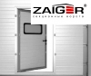 Врезка калитки в секционные ворота Zaiger